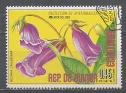 Equatorial Guinea 1974, Scott #74196 Flowers' Gloxinia Caulescena (U) - Guinée Equatoriale