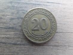 Algerie  20  Centimes  1972 Km 103 - Algérie