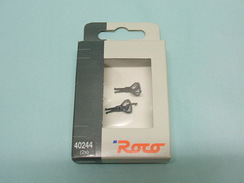 Roco - 2 ATTELAGES A CROCHET NEM Réf. 40244 NBO HO 1/87 - Other