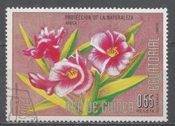 Equatorial Guinea 1974, Scott #74198 Flowers' Nerium Oleander (U) - Guinée Equatoriale