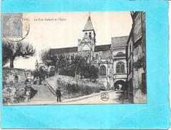 TRIEL - 78 - La Rue Galand Et L'Eglise - ENCH1612 - - Triel Sur Seine