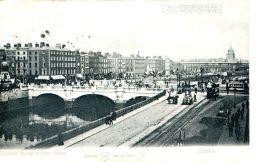 N°29713 -cpa Dublin -connell Bridge Et Eden Quay- - Dublin