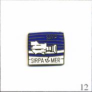 PIN´S Armée - Marine / Service Communication Sirpa-Mer SAVP. Estampillé SP. EGF. T484-11 - Army