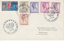 Luxemburg 1960 Definitives /  S.A.R. Grand-Duchesse Charlotte 5v FDC (34209H) - FDC
