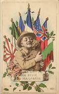 Guerre 1914-18- Ref L90- Drapeaux Alliés - Ma Belle Mascotte   -carte Bon Etat  - - Guerra 1914-18