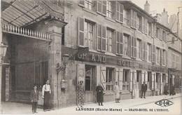 LANGRES ( [52] Haute Marne ) - Grand Hotel De L'Europe - Langres