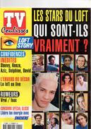 TV Coulisses, Magazine, Loft Story, Confidences Steevy, Kenza, Aziz, David, Delphine, Qui Lofteurs, 46 Pages - Livres, BD, Revues