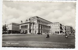 Autriche-- VIENNE--1959--Staatsoper (animée,tramway,scooters,voiture Dont Citroen 2CV) Cpsm14 X 9 N°81878 éd L&H - Autres