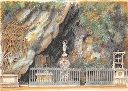 Illustrateur DUMARAIS - LOURDES - La Grotte Miraculeuse  - N° 2310 C - M. Barré & J. Dayez - Andere Illustrators