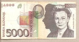 Slovenia - Banconota Circolata Da 5.000 Talleri - 1993 - Slovénie