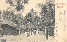 Ceylon, Colombo, Greetings From Ceylon-Colombo  (Sri Lanka)  (Ceylan) - Sri Lanka (Ceylon)