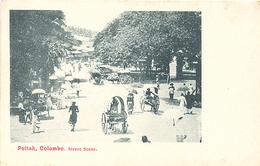 Ceylon, Colombo, Pettah, Street Scene (Sri Lanka)  (Ceylan) - Sri Lanka (Ceylon)