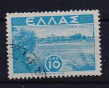 GREECE STAMPS LANDSCAPES 10DRX -1942/44-USED - Griechenland