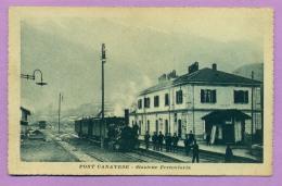 Pont Canavese - Stazione Ferroviaria - Italy