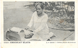 Ceylon, Femme Faisant Des Dentelles(Sri Lanka)  (Ceylan) - Sri Lanka (Ceylon)