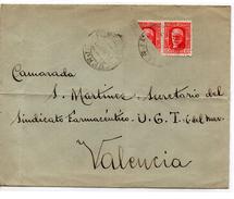 Carta Con Matasellos Berja (almeria). Y Sello Visectado. - 1931-Today: 2nd Rep - ... Juan Carlos I