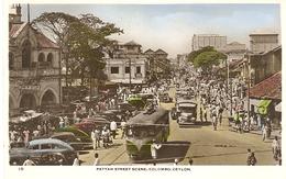 Ceylon, Colombo, Pettah Street Scene (Sri Lanka)  (Ceylan)  2 X Scan - Sri Lanka (Ceylon)