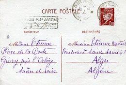 CARTA POSTALE CIRCULADA  PARIS   ZTU. - France