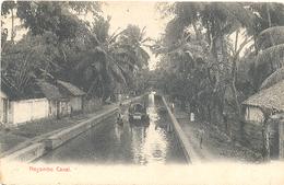 Ceylon, Negambo Canal (Sri Lanka)  (Ceylan) - Sri Lanka (Ceylon)