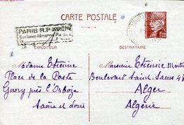 CARTA POSTALE CIRCULADA  REPUBLIQUE FRANCAISE ZTU. - Frankrijk