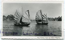 - 138 - Viet-Nam - Saigon - Baie D'Along,  Voiliers, Splendide, Petit Format, Glacée, Rare En Noir Et Blanc, TBE, Scans. - Viêt-Nam