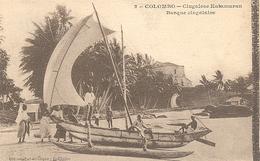 Ceylon, Colombo, Singalese Katamaran (Sri Lanka)  (Ceylan) - Sri Lanka (Ceylon)