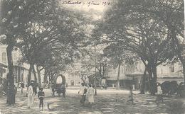 Ceylon, Colombo, York Street Looking Towards The Jetty (Sri Lanka)  (Ceylan) - Sri Lanka (Ceylon)