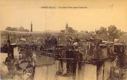"""SYRIE Syria - DAMAS Damascus : Vue De La Ville Après L'Incendie - CPA """"vernie"""" - ( Syrien Siria ) - Syrië"""