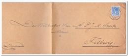 Brief Van Breda Naar Tilburg Stempel Breda 1928 - Periode 1891-1948 (Wilhelmina)