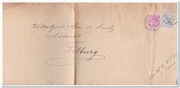Brief Van Den Bos Naar Tilburg Stempel S'Hertogenbosch 27.IV.6n 1922 Achterkant Postbodestempel - Periode 1891-1948 (Wilhelmina)