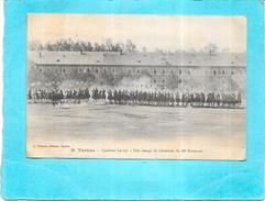 TARBES - 65 - Quartier Larrey - Une Charge De Cavalerie Du 10ème Hussards -  - ENCH1612 - - Tarbes