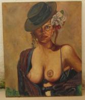 Anónimo. *Retrato Dama* Meds: 540 X 650 Mms. Escuela Española. - Oleo