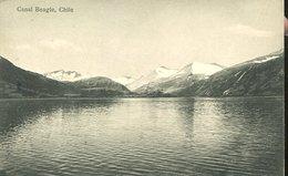 CANAL BEAGLE  POSTAL B/N CHILE  ZTU. - Chili