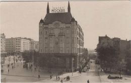 AK - BELGRAD - Strassenansicht Mit Hotel Moskau  1954 - Serbien