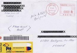 EMA-Turquie-Sisli-Ist, A 1935.14.05.2012.Enveloppe Recommandée Entière Ayant Circulée Vers La France - Other
