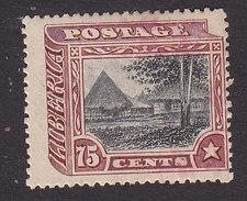 Liberia, Scott #124, Mint Hinged, Liberian Village, Issued 1909 - Liberia