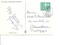 Suisse ( CP De 1960 De Muzzano  Vers La Belgique à Voir) - Storia Postale
