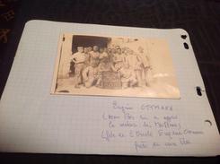 Photo Militaire Tailleurs Souvenir D Orient 1920 1922 Photo Collée Sur Le Papier 📝 - Guerra, Militares