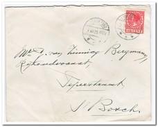 Brief Loon Op Zand Naar Den Bosch Stempel Loon Op Zand 2.XII.25.1112V Achterkant Postbodestempel - 1891-1948 (Wilhelmine)
