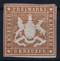 Würtemberg 1865 Mi Nr 33a Not Used (*) SG - Wuerttemberg