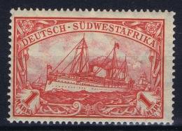 Deutsch Südwest Afrika: Mi Nr  29 B  25: 17   1906 MNH/**/postfrisch/neuf Sans Charniere