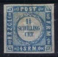 Holstein Lauenburg Mi Nr 5 II  Not Used (*) SG1864 - Schleswig-Holstein