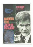 JUEGO DE PATRIOTAS HARRISON FORD - Programa Cine FILM PROGRAM  AFFICHE CINÉMA - Affiches & Posters