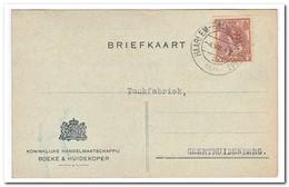 Brief Haarlem Naar Geertruidenberg Stempel Haarlem-Frans-Halsstraat -4.VIII.4n 1923 ( Boeke & Huidekoper Kon. Handelm.) - Periode 1891-1948 (Wilhelmina)