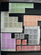 NRS 418A(x8)419(x7)420(x8)421(x9)422(x8)423(x7)424(x11)425(x9)426(x8) POSTFRIS - 1935-1949 Piccolo Sigillo Dello Stato