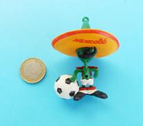 FIFA FOOTBALL WORLD CUP MEXICO '86. * MASCOT PIQUE Original Vintage Figurine Coupe Du Monde 1986. Fussball Soccer Futbol - Apparel, Souvenirs & Other