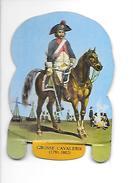 Mère Picon. Plaquette Métallique Lithographiée. Soldats De L'Empire N°20 Grosse Cavalerie (1791-1802). - Plaques En Tôle (après 1960)