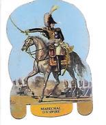 Mère Picon. Plaquette Métallique Lithographiée. Soldats De L'Empire N°2 Maréchal De 'l'Empire... - Plaques En Tôle (après 1960)
