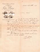 Beau Document Du 31/10/1901 JULES DEPERY Pignons Et Pivotages - Scionzier 74 - 1900 – 1949