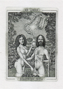 EX LIBRIS BOOKPLATE Di Marian Oravec Creato Per Siegfried Dick - Ex Libris